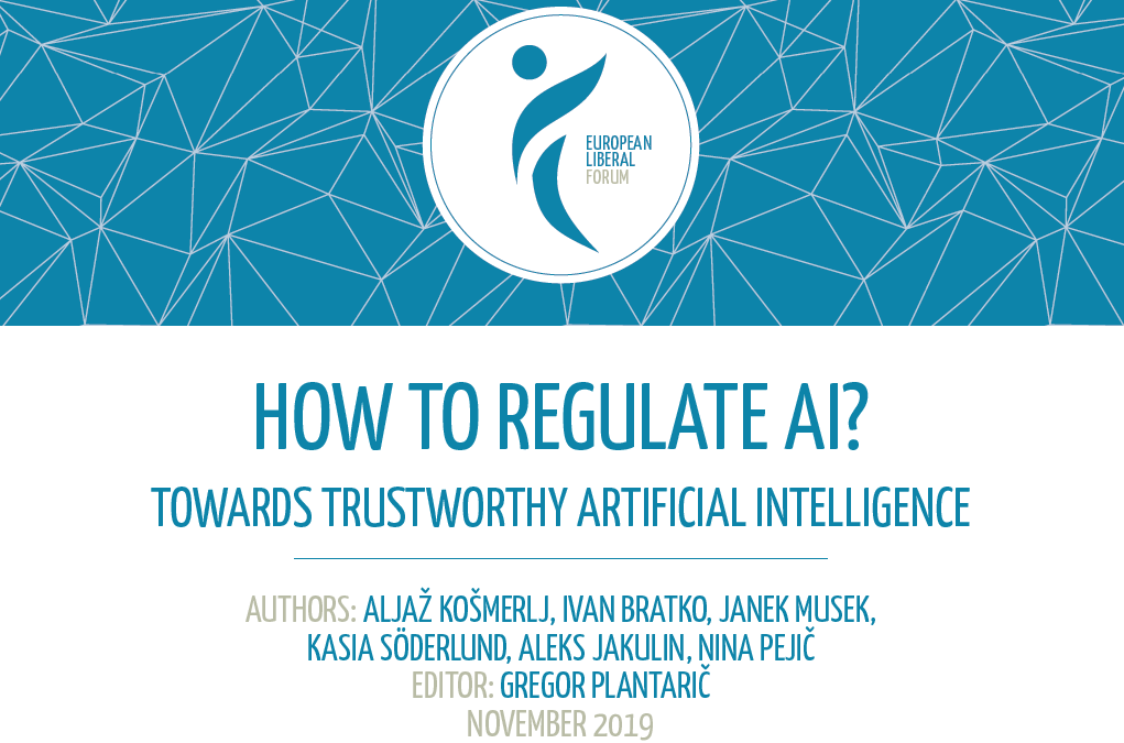 Publication: How to regulate AI? – Towards Trustworthy Artificial Intelligence